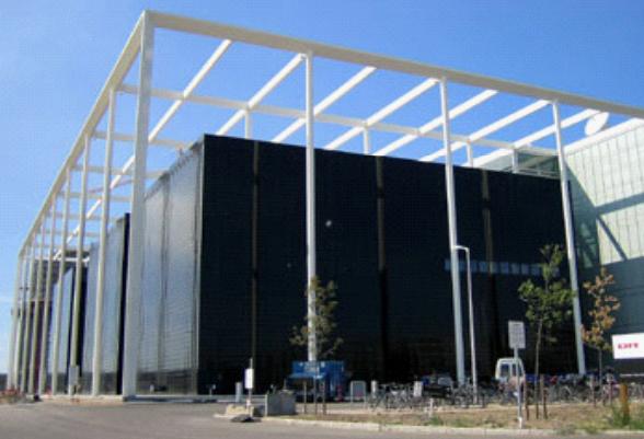 Budova dánské televize v Kopenhagenu